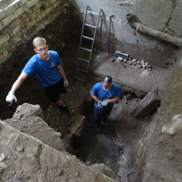 Information for Media: The Bimah of the Great Synagogue of Vilna (Vilnius) is Rediscovered