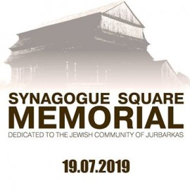 Synagogue Square Memorial will be opened to public on 19.07.2019!