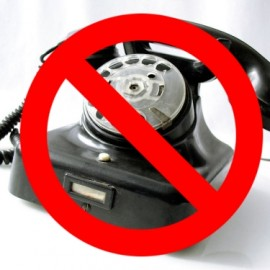 We kindly inform you, that GWF landline telephone will not be working this and the next week