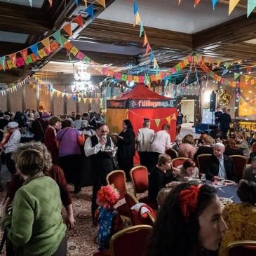 Lithuanian Jewish Community Cheerfully Celebrated Purim!