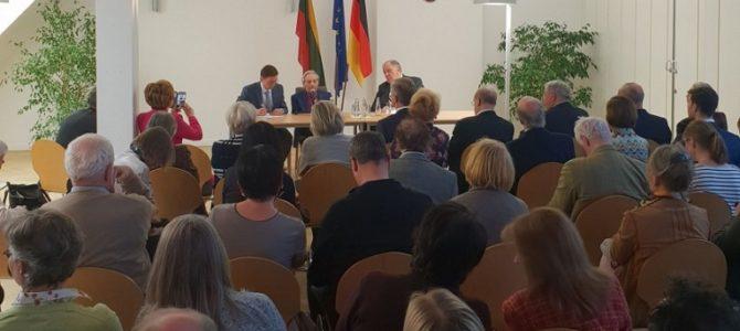 Markas Petuchauskas's Book Price of Concord Presented in Berlin