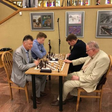 Vytautas Landsbergis Cup 2019 Chess Tournament took place at Lithuanian Parliament