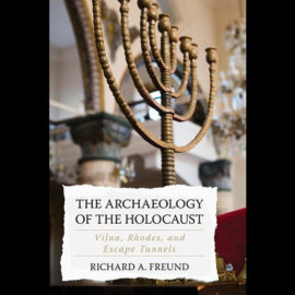 """The book """"Holocaust Archaeology: Vilna, Rhodes and Escape Tunnels"""" was presented at Lithuanian Jewish Community"""