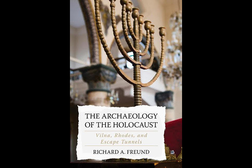 "The book ""Holocaust Archaeology: Vilna, Rhodes and Escape Tunnels"" was presented at Lithuanian Jewish Community"