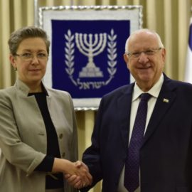 Israel President Welcomed New Ambassador to Israel – Lina Antanavičienė