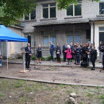 Vilnius politicians gave permission to demolish the kindergarten above the remains of Great Vilna synagogue