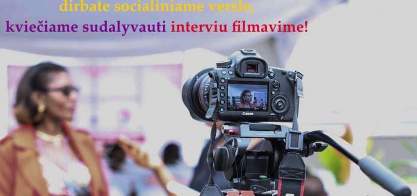 Innovation bureau is looking for women for interview filming