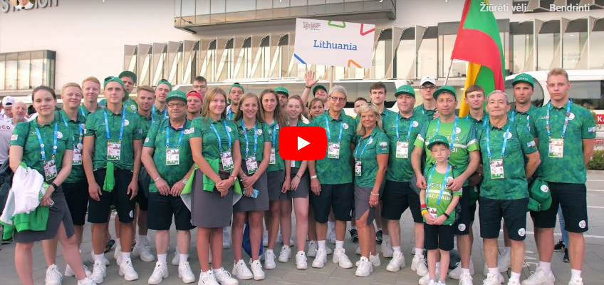 We invite you to watch Lithuanian Sports Club Makabi film on their Participation at 15th European Maccabi Games 2019 in Budapest