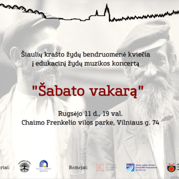 We kindly invite you to the educational concert in Shiauliai