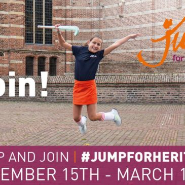 """We invite you to join the campaign by the organization """"Future for Religious Heritage"""" #JUMPFORHERITAGE"""