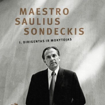 "The book ""Maestro Saulius Sondeckis Vol. 1, Conductor and Teacher"" (Lithuanian) by Leonidas Melnikas can be purchased at the Good Will Foundation"
